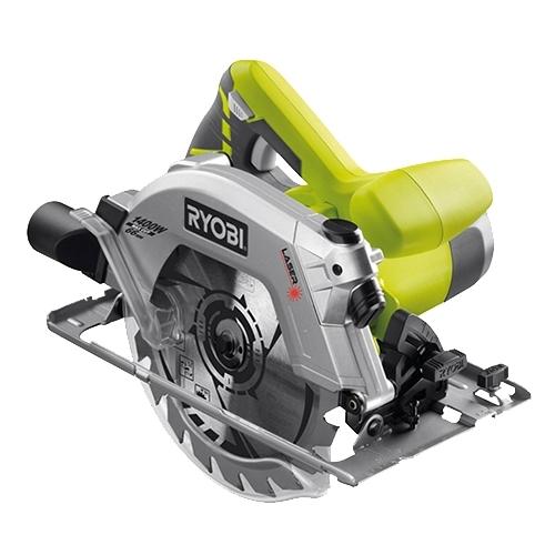Дисковая пила Ryobi RWS1400-K (3001786)Пилы<br>Дисковая пила Ryobi RWS1400-K 3001786 оснащена надежным двигателем мощностью 1400 Вт. Предусмотрен патрубок для подключения пылесоса с целью поддержания чистоты рабочего места и отличной видимости линии реза.&amp;nbsp;&amp;nbsp;Имеется возможность распиливания под углом 45 градусов. Модель поставляется в кейсе, что решает вопрос хранения и транспортировки.<br><br>- Мощный и надежный двигатель;<br>- Долгий срок службы;<br>- Инструмент поставляется в кейсе - для удобства хранения и транспортировки.<br><br><br>Тип: дисковая<br>Конструкция: ручная<br>Мощность, Вт: 1400<br>Функции и возможности: лазерный маркер