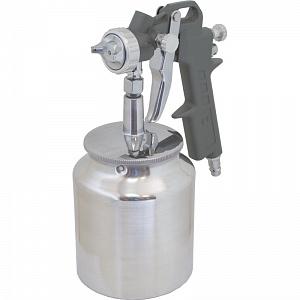 Краскопульт Калибр КРП-1,5/0,75НБКраскопульты<br>Краскопульт пневматический Калибр КРП-1,5/0,75НБ предназначен для нанесения красочных составов, путём распыления их сжатым воздухом<br><br>Тип: краскопульт<br>Мощность Вт: 650<br>Производительность: 120-200 л/мин<br>Объем контейнера: 0.75 л