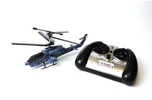 Радиоуправляемый вертолет Syma S108G AH-1 Super CobraИгрушечные машинки и техника<br>Радиоуправляемый вертолет Syma S108G – это относительно новая модель конца 2011 года от самого популярного в России производителя радиоуправляемых игрушек Syma. Мини модель Syma S108G - это вертолет на радиоуправлении с встроенным гироскопом на трехканальном управлении. Данная игрушка –копия двухместного боевого вертолёта Bell AH-1 Super Cobra, стоящего на вооружении у армий США, Турции, Тайваня.<br><br>Модель Сима С108 имеет 3-хканальное управление: вверх/вниз &amp;#40;скорость вращения электромоторов&amp;#41;, вперед/назад, вращение по/против часовой стрелки. Управление по трем...<br>