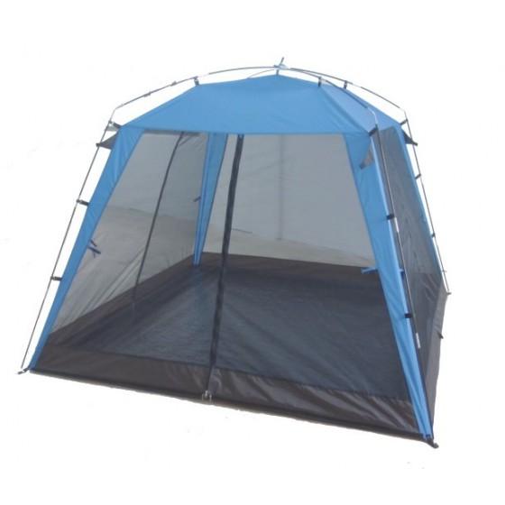 Палатка Green Glade MaltaПалатки<br>Палатка пляжная Green Glade Malta обеспечивает защиту от солнца и даже легких осадков - особенно полезен для очень маленьких детей. Тент полностью закрывается, очень прост в установке, имеет малый вес и удобный чехол с ручкой для переноски.<br><br>Его размер 210*210 см, по периметру с четырех сторон москитные сетки, две из которых можно открыть по середине и развести в стороны.<br><br>Застегните москитные сетки со всех сторон и Вас не одолеют насекомые. Крыша шатра имеет пропитку от дождя, и в нем вполне можно переждать мелкий, короткий дождик.<br><br>- Простая и быстрая установка,...<br><br>Тип: палатка<br>Назначение: солнцезащитный шатёр-палатка, пляжный<br>Материал: полиэтилен, армированный