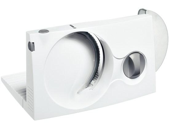 Ломтерезка Bosch MAS 4000WБлендеры, миксеры и ломтерезки<br>- Волнообразная заточка ножа<br>- Макс. толщина ломтика 17 мм<br>- Защита от случайного включения<br>- Складной корпус<br>- Отсек для кабеля.<br><br>Тип : лометрезка<br>Мощность, Вт: 100<br>Управление: Механическое