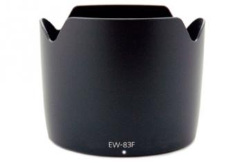Бленда Fujimi EW83F для объектива Canon (EF 24-70mm f/2.8L)Аксессуары для фототехники<br><br><br>Цвет : черный<br>Дополнительно: для объектива Canon (EF 24-70mm f/2.8L)