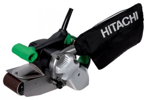 Ленточная шлифмашина Hitachi SB10S2Шлифовальные и заточные машины<br>Ленточная шлифмашина Hitachi SB10S2 предназначена для шлифования, выравнивания и зачистки различных поверхностей, в том числе вплотную к стенам, например, при шлифовке деревянного пола. Благодаря дополнительной рукоятке, управление инструментом значительно упрощено. Контроль места обработки упрощается за счет прозрачного смотрового окна в кожухе.<br><br>Длина листа/ленты, мм: 610<br>Ширина листа/ленты, мм: 100<br>Описание: 2 скоростных режима обработки