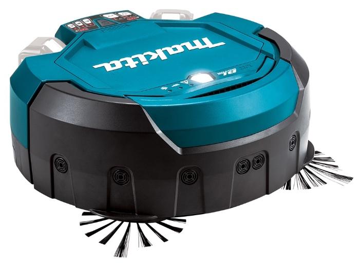 Пылесос робот Makita DRC200ZПылесосы<br>Аккумуляторный робот-пылесос Makita DRC 200 Z &amp;#40;без АКБ&amp;#41;:<br>преимущества<br><br>- Для коммерческого и промышленного назначения<br>- Два автоматических уборки<br>- Способен очистить площадь 500 кв.м<br>- Z - аккумулятор, кейс для транспортировки и зарядное устройство не входят в комплект поставки<br><br>Тип: Робот<br>Тип уборки: Сухая<br>Регулятор мощности на корпусе: Нет<br>Пылесборник: Циклонный фильтр<br>Емкостью пылесборника : 2.50 л