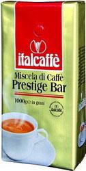 Кофе в зернах Italcaffe Prestige Bar 1 кгКофе, какао<br>Это смесь сортов арабики и робусты с лучших кофейных плантаций Бразилии и Гватемалы с приятным ароматом и сладкой пенкой.<br><br>PRESTIGE BAR - идеальный кофе для тех, кто предпочитает только высшее качество.<br><br>Высококачественный кофе ItalCaffe итальянской обжарки с лучших кофейных плантаций Бразилии, Колумбии, Коста-Рики, Гватемалы, Гондураса, Камеруна, Кот д`Ивуара и некоторых других стран.<br><br>Идеально подходит для приготовления настоящего итальянского эспрессо в кофемашине, кофеварке или гейзере.<br><br>Тип: кофе в зернах<br>Обжарка кофе: средняя<br>Состав: 50% Арабика/ 50% Робуста<br>Дополнительно: состав: 50% арабика, 50% робуста. Зерна в вакуумной упаковке с односторонним клапаном