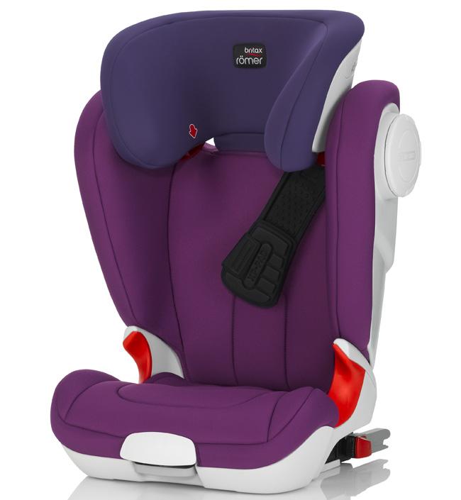 Детское автокресло Britax Romer Kidfix XP SICT Mineral Purple