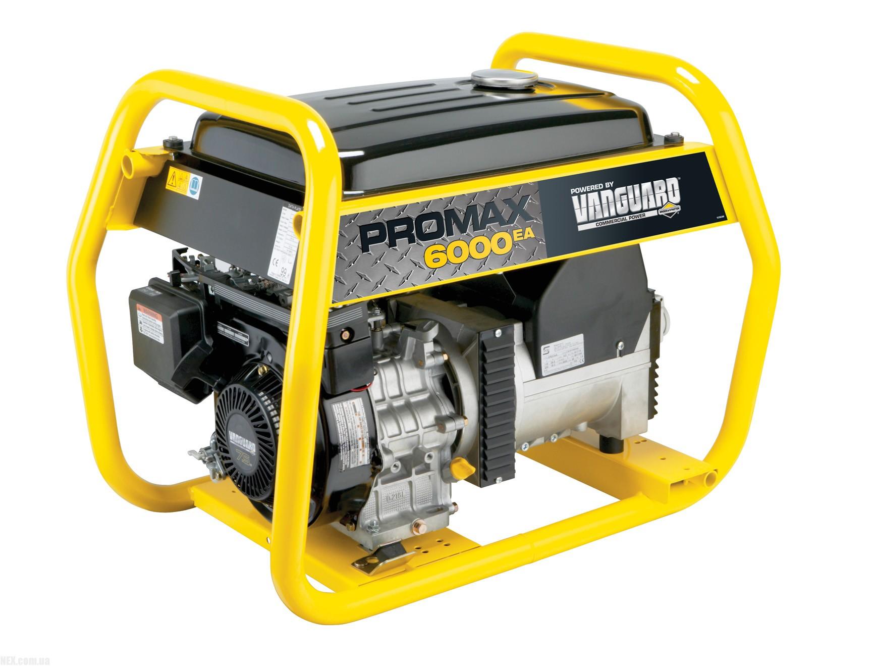 Электрогенератор Briggs & Stratton ProMax 6000EA