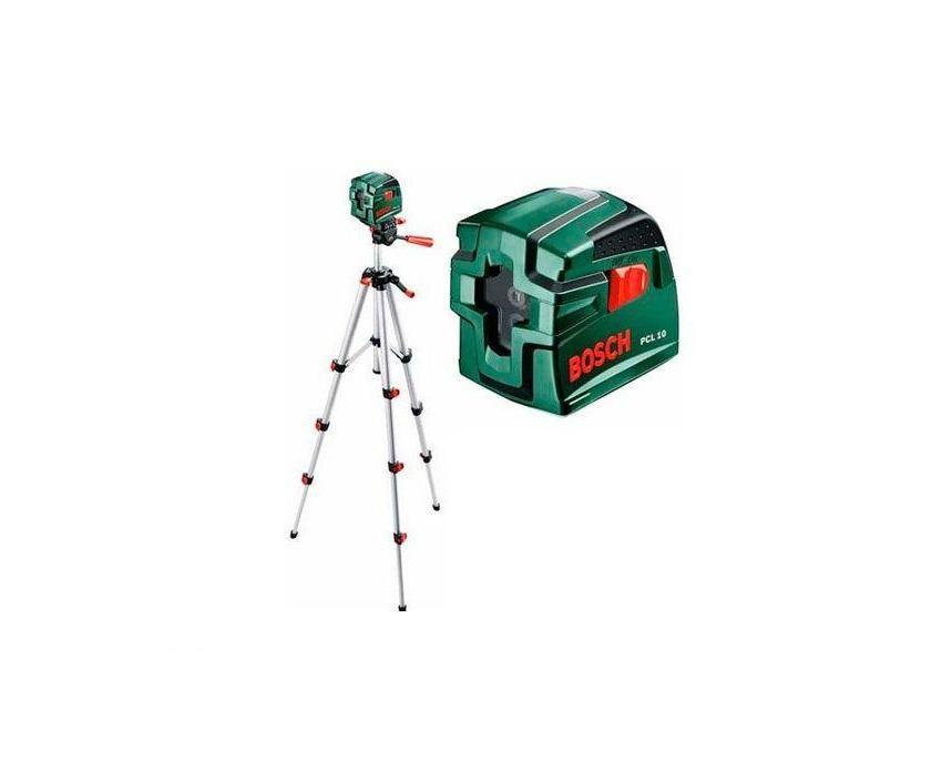 Лазерный нивелир Bosch PCL 10 SET [0603008121]