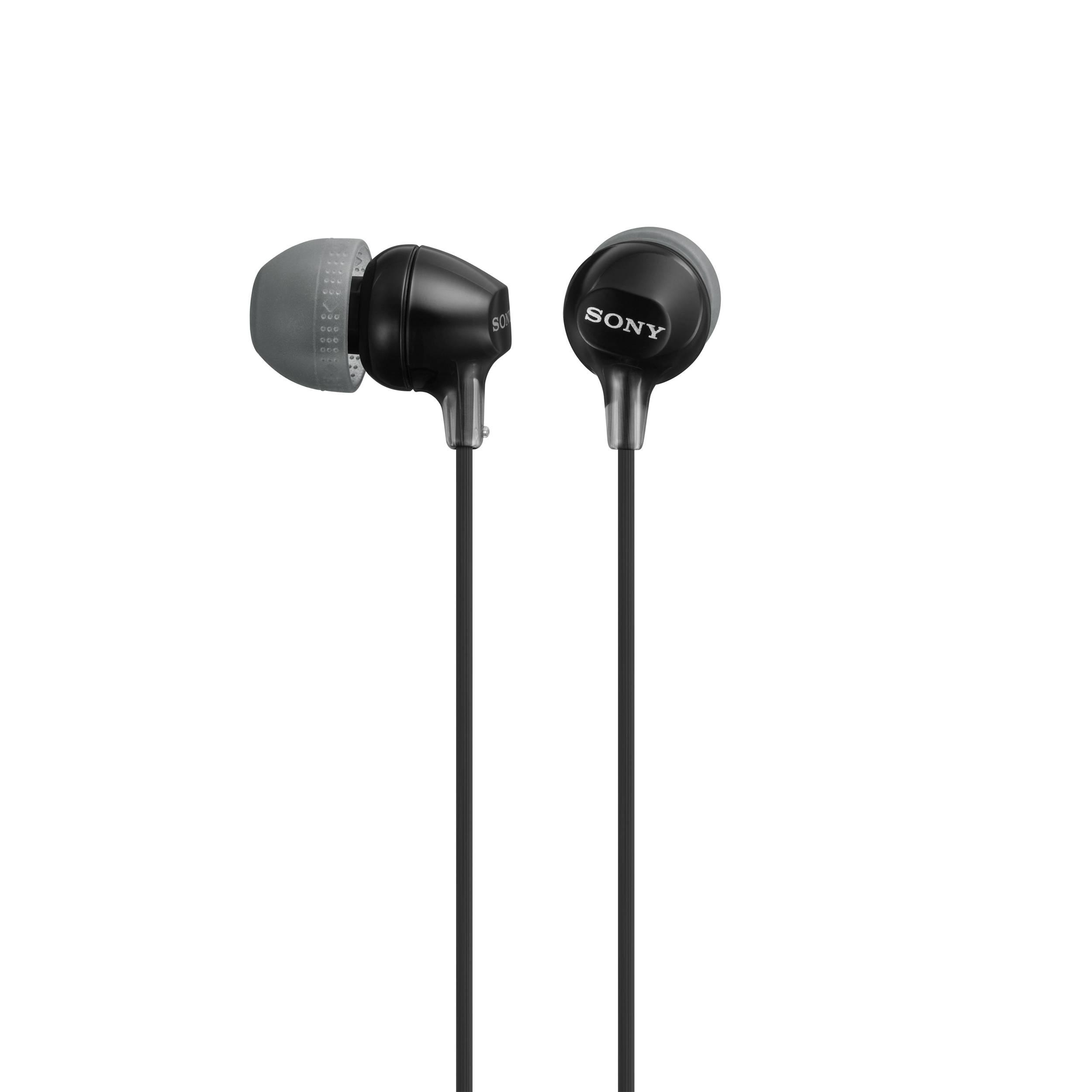 Наушники Sony MDR-EX15LP/B BlackНаушники и гарнитуры<br>Sony MDR-EX15LP/B Black: внешняя строгость и качественное звучание.<br>Те, кто любит классику, почти всегда выбирают традиционный черный цвет и простые формы. Это вполне объяснимо, ведь многие считают, что фирменная аудиотехника должна отличаться внешней скромностью, но при этом обладать качественными звуковыми характеристиками.<br>Наушники Sony MDR-EX15LP/B Black именно таковы: скромные и строгие на вид и, при этом, обладающие отменными звуковыми возможностями. Частотный диапазон — 8-22000 Гц, чувствительность — 100 дБ, импеданс — 16 Ом. Вы и сами поймете, насколько это ...<br><br>Тип: наушники<br>Тип акустического оформления: Закрытые<br>Вид наушников: Вкладыши<br>Тип подключения: Проводные<br>Номинальная мощность мВт: 100<br>Диапазон воспроизводимых частот, Гц: 8 - 22000<br>Сопротивление, Импеданс: 16<br>Чувствительность дБ: 100