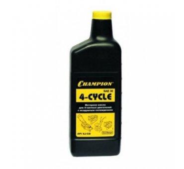 Масло для четырехтактных двигателей Champion SAE30 (0,6л) минеральноеАксессуары для мотоблоков и культиваторов<br><br><br>Тип: масло
