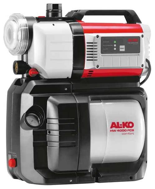 Насос AL-KO HW 4000 FCS ComfortНасосы<br><br><br>Глубина погружения: 8 м<br>Максимальный напор: 45 м<br>Пропускная способность: 4 куб. м/час<br>Напряжение сети: 220/230 В<br>Потребляемая мощность: 1000 Вт<br>Качество воды: чистая<br>Установка насоса: горизонтальная