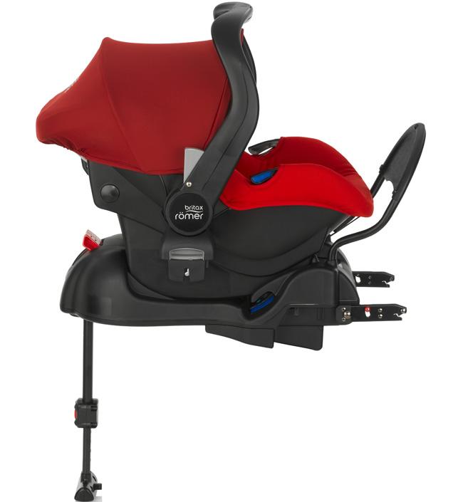 Детское автокресло Britax Romer Primo Flame Red + базаДетские автокресла<br>Комплект: автолюлька для детей от 0 до 13 кг и база PRIMO. <br><br>Особенности автокресла Primo: <br>- Внутренний 3-точечный ремень безопасности регулируется всего одним движением руки.<br>- Специальный вкладыш для новорожденных, состоящий из 2 частей &amp;#40;подголовника с мягкими бортиками и подушки под спину&amp;#41;, обеспечивает комфорт и безопасность во время сна. При необходимости вынимается, увеличивая свободное пространство внутри автокресла.<br>- Совместимость с детскими колясками BRITAX, оснащенными механизмом CLICK &amp; GO.<br>- Съемный капор для защиты от солнца и ветра с защитой...<br>