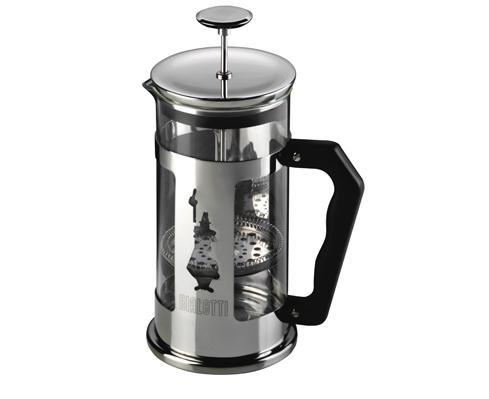 Френч-пресс Bialetti Pressofiltro 3130Чайные/кофейные принадлежности<br><br><br>Цвет: серебристый
