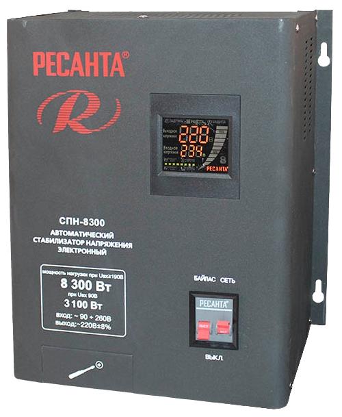 Стабилизатор напряжения Ресанта СПН-8300Стабилизаторы напряжения<br><br>