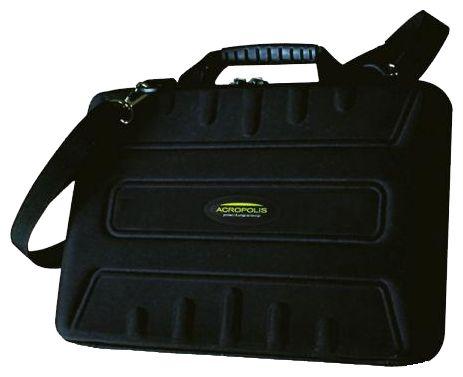 Сумка Acropolis НБ-10Сумки, рюкзаки и чехлы<br><br><br>Тип: сумка<br>Описание : сумка для нетбука<br>Вместимость: максимальный размер экрана 12.1