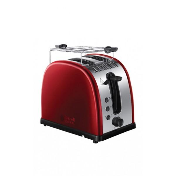 Тостер Russell Hobbs 21291-56Тостеры и минипечи<br><br><br>Тип: тостер<br>Мощность, Вт.: 1300<br>Тип управления: Механическое<br>Количество отделений: 2<br>Количество тостов: 2