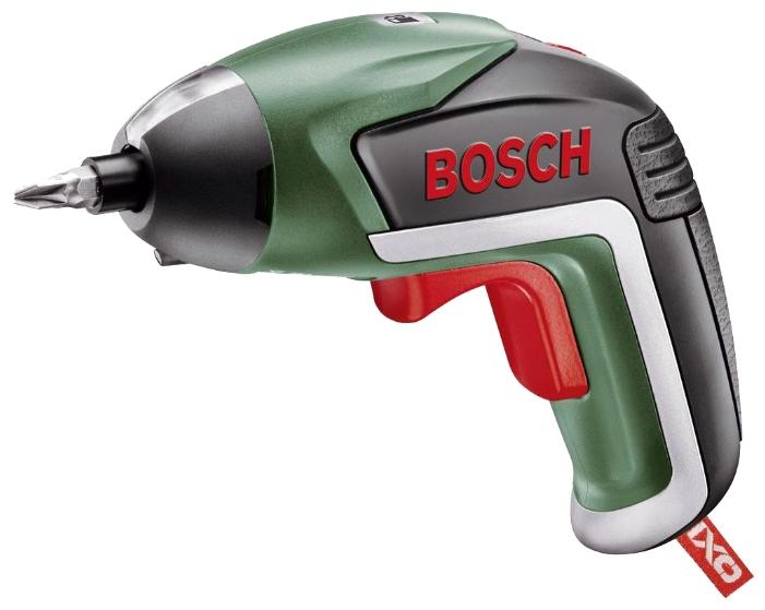 Отвертка Bosch IXO 5 medium [06039A8021]Дрели, шуруповерты, гайковерты<br>Успешный электроинструмент теперь в 5-м поколении с угловой насадкой<br><br>Потребительские преимущества<br>- Улучшенный эргономичный дизайн — обеспечивает несколько вариантов хвата<br>- Инновационная яркая светодиодная подсветка — как в режиме точечного, так и рассеянного освещения<br>- С зарядным устройством Micro-USB для быстрой подзарядки<br><br>Дополнительные преимущества<br>- Угловая насадка — оптимальная гибкость при выполнении работ по заворачиванию шурупов в труднодоступных местах<br>- Отсутствие саморазряда и эффекта памяти, постоянная готовность к работе...<br>