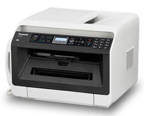 МФУ Panasonic KX-MB2110RUПринтеры и МФУ<br><br><br>Тип печати : черно-белая<br>Технология печати  : лазерная<br>LCD-дисплей  : Есть<br>Поддержка ОС  : Windows, Linux, Mac OS<br>Максимальное разрешение для ч/б печати, dpi  : 600x600<br>Скорость печати, стр/мин  : 26<br>Тип сканера  : Планшетный<br>Максимальный формат оригинала  : А4<br>Максимальный размер сканирования, мм  : 216x297<br>Оттенки серого  : 256