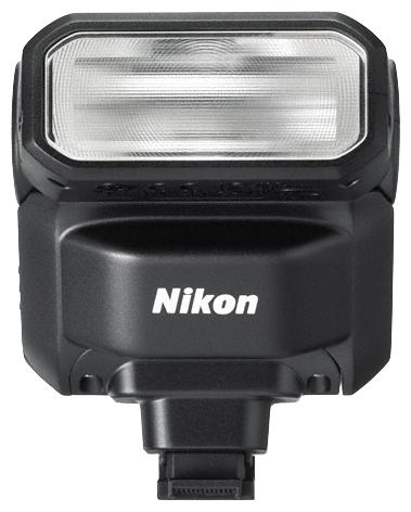 Вспышка Nikon SpeedLight SB-N7, черныйВспышки<br>Откройте для себя новые возможности работы со светом. Компактная и сверхлегкая вспышка Speedlight SB-N7 — это удобный инструмент, дающий возможность контролировать качество и направление света. Воспользуйтесь ею для придания творческих штрихов изображениям или подсветки объектов в условиях недостаточной освещенности.<br><br>Вспышку Speedlight можно легко присоединить к фотокамерам Nikon 1 при помощи многофункционального разъема для принадлежностей и поворачивать под любым углом. Рассеивание или смягчение света может быть осуществлено путем отражения вспышки...<br><br>Тип вспышки: обычная<br>Количество ламп в одной вспышке: 1<br>Совместимые камеры: Nikon<br>Крепление: башмак<br>Поворотная головка: есть<br>Угол поворота вверх: 120 градусов<br>Ручная регулировка мощности: есть<br>Синхронизация по передней шторке затвора: есть<br>Синхронизация по задней шторке затвора: есть