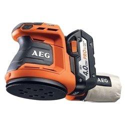 Эксцентриковая шлифмашина AEG 451087 BEX18-125 LI-402C