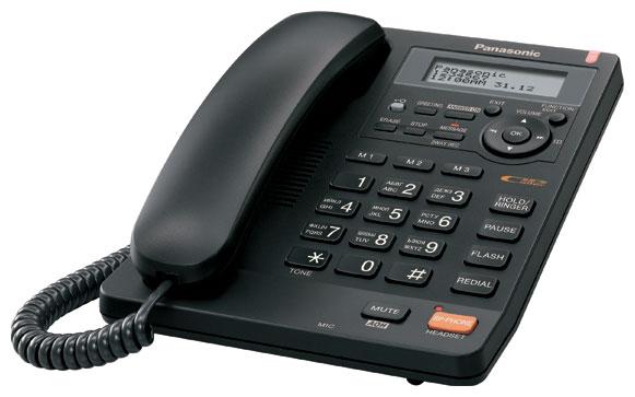 Проводной телефон Panasonic KX-TS2570RUB BlackПроводные телефоны<br>Panasonic kx ts2570rub нравится с первого взгляда.<br><br><br>  <br><br><br>Когда вы выбираете новый телефон, на что вы в первую очередь обращаете свое внимание? Сначала вы, скорее всего, оцениваете аппарат внешне: его цвет, дизайн, удобное расположение кнопок. Затем приходит черед его функций и возможностей, а потом вы уже более детально останавливаетесь на вопросах качества и надежности телефона. Все правильно, но скажите, бывает ли, когда телефон вам нравится с первого взгляда?<br><br><br>  <br><br><br>Не торопитесь ответить на этот вопрос, потому что проводной телефон Panasonic kx ts2570rub влюбляет...<br><br>Тип: проводной телефон<br>Автоответчик: есть<br>Дисплей: есть<br>Органайзер: есть<br>Наборное поле на базе: есть<br>АОН/Caller ID: есть/есть<br>Громкая связь (спикерфон): есть<br>Разъем для гарнитуры: есть<br>Память (количество номеров): 50<br>Однокнопочный набор (количество кнопок): 3
