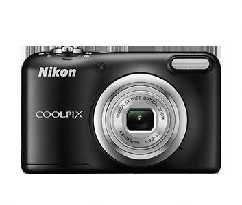 """Цифровой фотоаппарат Nikon Coolpix A10 BlackЦифровые фотоаппараты<br>Компактный цифровой фотоаппарат Nikon Coolpix A10 оснащен CCD-матрицей размером 1/2.3"""". Общее количество пикселей приблизительно составляет 16.44 миллиона. Камера способна создавать реалистичные снимки с высокой детализацией и максимальным размером кадра 4608х3456 пикселей. Диапазон чувствительности ISO варьируется от 80 до 1600 единиц.<br><br>- Объектив<br>Устройство получило фирменный объектив Nikkor. Конструкция позволяет осуществлять 5-кратное оптическое увеличение. Фотоаппарат качественно приближает объекты на большом расстоянии и не создает шумов. Фокусное расстояние...<br><br>Тип: Цифровой Фотоаппарат<br>Стабилизатор изображения: Цифровой<br>Вспышка: Есть<br>Цвет: Чёрный<br>Кроп фактор: 5.62<br>Тип матрицы: CCD<br>Размер матрицы: 1/2.3<br>Количество эффективных мегапикселей: 16.1<br>Чувствительность: 80 - 1600 ISO, Auto ISO"""
