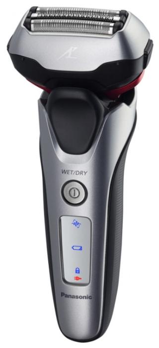 Электробритва Panasonic ES-LT2N-S820Электробритвы<br><br><br>Тип : Сеточная электробритва<br>Количество бритвенных головок: 3<br>Плавающие головки: Есть<br>Способ бритья: Сухое/влажное<br>Скорость мотора, об/мин: 13000<br>Триммер: Есть<br>Водонепроницаемый корпус  : Есть<br>ЖК-дисплей: Есть