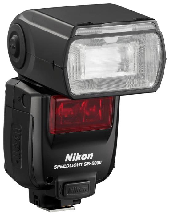 Фотовспышка Nikon SpeedLight SB-5000Вспышки<br><br><br>Тип вспышки: обычная<br>Количество ламп в одной вспышке: 1<br>Совместимые камеры: Nikon<br>Крепление: башмак<br>Дисплей: есть<br>Время перезарядки: 2.60 c<br>Поворотная головка: есть<br>Угол поворота вверх: 90 градусов<br>Угол поворота по горизонтали: 360 градусов<br>Автоматический Zoom: есть