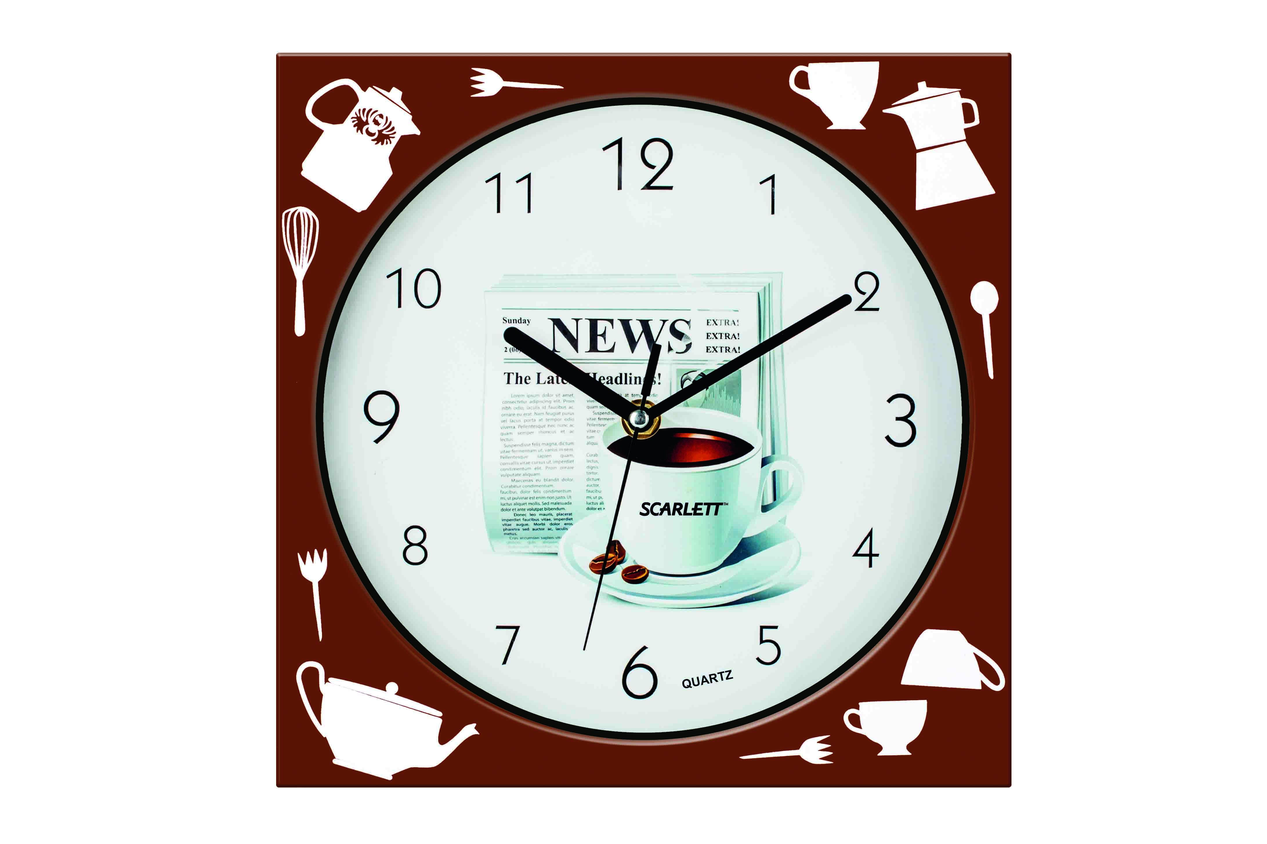 Часы настенные Scarlett SC -WC1001K