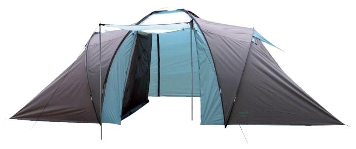 Палатка Green Glade Konda 6 (Como 6)Палатки<br><br><br>Тип: палатка<br>Назначение: трекинговая<br>Материал: полиэстер (190T 63D PU)/полиэтилен (tarpaulin)<br>Количество мест: 6