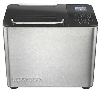 Хлебопечка Kenwood BM450Хлебопечки<br><br><br>Тип: Хлебопечь<br>Максимальный вес выпечки, г: 1000<br>Мощность, Вт: 780<br>Регулировка веса выпечки: Есть<br>Выбор цвета корочки: Есть<br>Таймер: Есть<br>Поддержание температуры: Есть<br>Диспенсер: Есть<br>Запас памяти при сбое электропитания, мин: 8