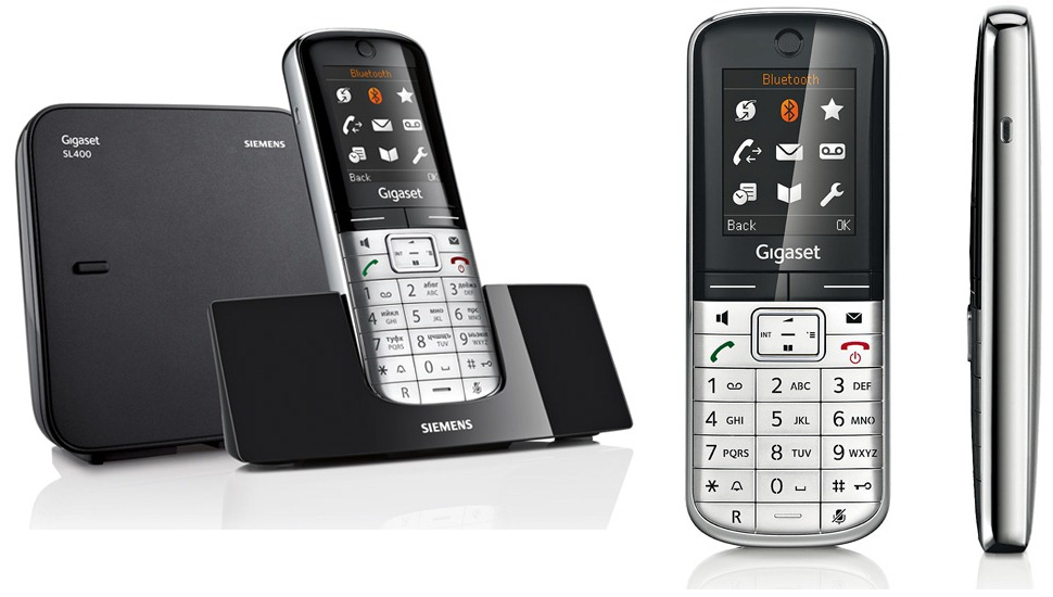 Радиотелефон Gigaset SL400 Metal (Siemens)