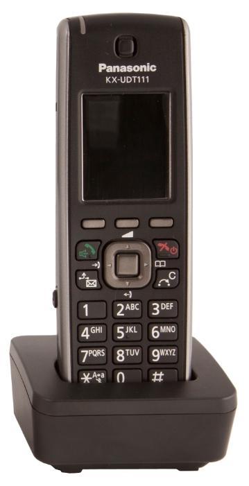 IP телефон Panasonic KX-UDT111RUSIP-телефоны<br>Panasonic KX-UDT111RU — помощник в любых переговорах.<br>Вы, наверняка, уже в курсе, что сегодня IP-телефония становится не просто очень популярным видом связи, но и практически незаменимым. Особенно, когда дело касается обеспечения качественной и экономичной связью офиса или любого другого рабочего предприятия. Вот почему мы предлагаем вам обратить свое внимание на IP-телефон Panasonic KX-UDT111RU — на этот красивый и функциональный представитель одного из самых современных видов телефонной связи.<br>Красивый, удобный, с функцией поддержки DECT и SIP — такой IP-телефон...<br><br>Тип: VoIP-телефон<br>Поддержка DECT: есть<br>Поддержка SIP: есть<br>Подключение гарнитуры: есть<br>Встроенная телефонная книг: есть, 500 контактов<br>Конференц-связь: есть