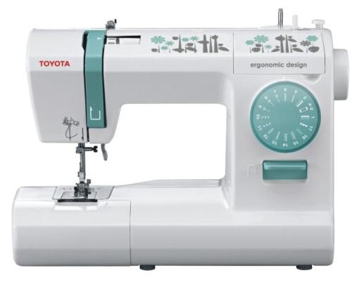 Швейная машина Toyota ECO17CШвейные машины<br>Toyota ECO 17C – электромеханическая швейная машина, выполняющая все необходимые операции. Машина делает 17 строчек на разные случаи и петлю полуавтомат. Помимо рабочих строчек машина имеет эластичные строчки для трикотажных тканей, оверлочные строчки, потайную подшивку низа. Приятной и немаловажной особенностью станет возможность регулировки ширины и длины строчек.<br><br>Благодаря наличию автоматического нитевдевателя, заправка нити занимает всего пару секунд, а специальная конструкция лапкодержателя позволяет сменить лапку в одно нажатие.<br><br>Абсолютно...<br><br>Тип: электромеханическая<br>Тип челнока: ротационный горизонтальный<br>Вышивальный блок: нет<br>Количество швейных операций: 17<br>Выполнение петли: полуавтомат<br>Число петель: 1<br>Максимальная длина стежка: 4.0 мм<br>Максимальная ширина стежка: 5.0 мм<br>Кнопка реверса: есть<br>Рукавная платформа: есть