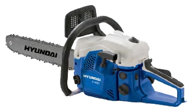 Бензопила Hyundai X460Пилы<br><br><br>Тип: бензопила<br>Конструкция: ручная<br>Мощность, Вт: 2300<br>Объем двигателя: 45.02 куб. см<br>Функции и возможности: антивибрация, тормоз цепи