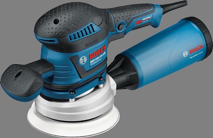 Эксцентриковая шлифмашина Bosch GEX 125-150 AVE [060137B102]Шлифовальные и заточные машины<br><br>