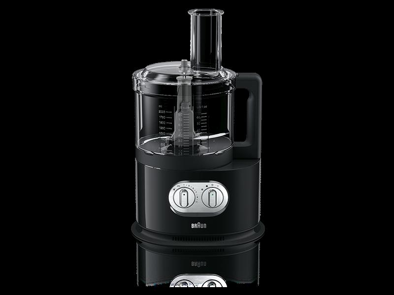 Кухонный комбайн Braun FP 5160 BKКухонные комбайны<br><br><br>Тип: Кухонный комбайн<br>Мощность, Вт: 1000<br>Емкость чаши, л: 2<br>Соковыжималка: Для цитрусовых