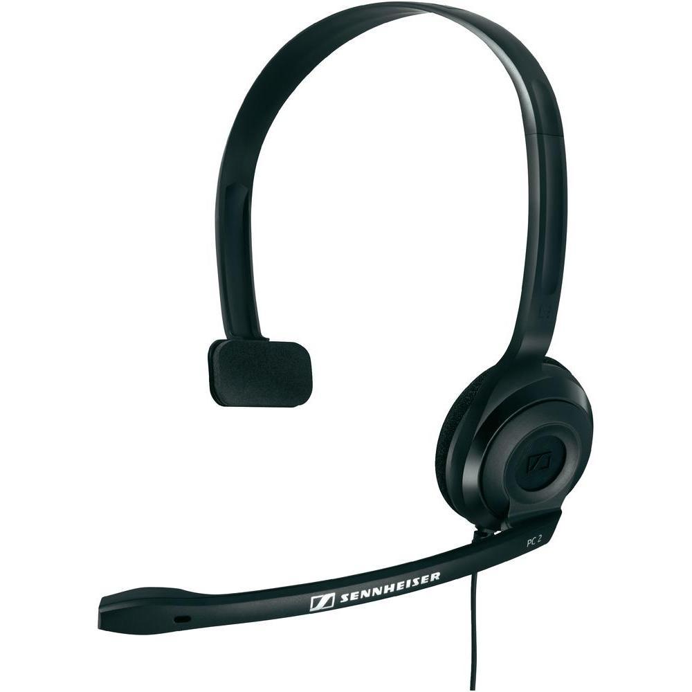 Наушники Sennheiser PC 2 CHATНаушники и гарнитуры<br><br><br>Тип: гарнитура<br>Вид наушников: Накладные<br>Тип подключения: Проводные<br>Диапазон воспроизводимых частот, Гц: 42 - 17000<br>Сопротивление, Импеданс: 32 Ом<br>Чувствительность дБ: 95<br>Микрофон: есть<br>Импеданс микрофона, Ом: 2000<br>Чувствительность микрофона, дБ: -40<br>Частотный диапазон микрофона, Гц: 90 - 15000