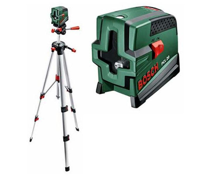 Лазерный нивелир Bosch PCL 20 SET [0603008221]