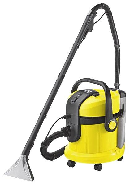 Пылесос Karcher SE 4001Пылесосы<br><br><br>Тип: Пылесос<br>Потребляемая мощность, Вт: 1400<br>Тип уборки: Сухая\влажная<br>Регулятор мощности на корпусе: Нет<br>Длина сетевого шнура, м: 7<br>Пылесборник: Мешок<br>Емкостью пылесборника : 18 л