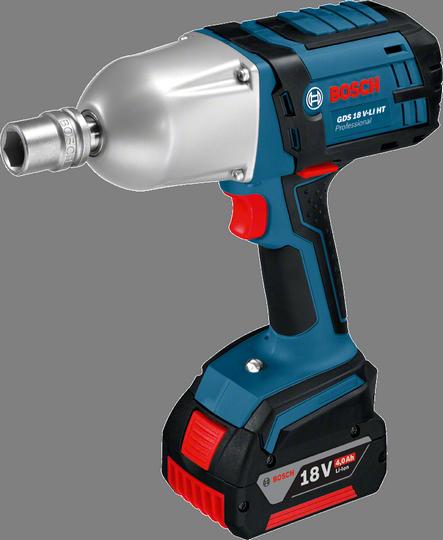 Гайковерт Bosch GDS 18 V-LI HT 4.0Ah x2 L-BOXX [06019B1303]
