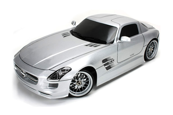 Автомобиль для дрифта Team Magic E4D Mercedes SLS Brushless 4WD 2.4Ghz