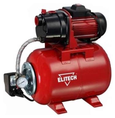 Насос Elitech САВ 1300Ч/50Насосы<br>ELITECH САВ 1300Ч/50 насосная станция предназначена для автоматического водоснабжения потребителей от источника воды до водоразборного узла, а также увеличения давления в действующей системе водоснабжения. Особенности: помпа выполнена из высококачественного серого чугуна, заливная и сливная пробка откручивается без помощи инструментов, блок управления смонтирован на выходе из гидроаккумулятора, что уменьшает вероятность их отламывания при перевозке и монтаже, надежный асинхронный двигатель с воздушным охлаждением, стальной оцинкованный ...<br><br>Глубина погружения: 8 м<br>Максимальный напор: 50 м<br>Пропускная способность: 3.6 куб. м/час<br>Напряжение сети: 220/230 В<br>Потребляемая мощность: 1300 Вт<br>Качество воды: чистая<br>Установка насоса: горизонтальная