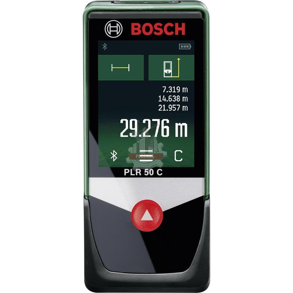 Лазерный дальномер Bosch PLR 50 C [0603672221]