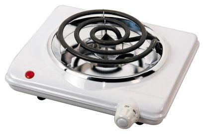 Электроплитка SATURN ST-EC 1165Кухонные плиты<br><br><br>Тип варочной панели: электрическая<br>Тип духовки: нет<br>Ширина, см: 50<br>Рабочая поверхность : эмаль<br>Число электрических конфорок: 1<br>Индикаторы остаточного тепла: нет<br>Гриль: нет<br>Высота, см: 8<br>Глубина, см: 20