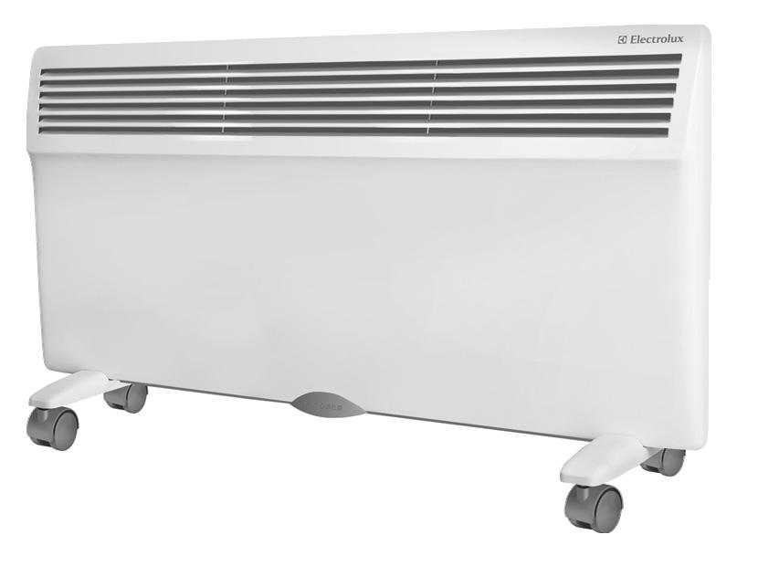 Конвектор Electrolux ECH/AG-2000 EFRОбогреватели<br>Electrolux ECH/AG – 2000 EFR – это надежный и качественный&amp;nbsp;&amp;nbsp;конвектор известной марки. Electrolux ECH/AG-2000 EFR обогревает площадь в 25 кв.м. Возможен монтаж устройства на стене или на полу. Electrolux ECH/AG-2000 EFR – современный обогреватель, имеющий колесики, помогающие передвигать модель на нужное расстояние. Этот прибор от известного производителя имеет регулятор температурного режима. Конвектор может отключаться, не допуская перегрева. Изучив фото и отзывы тех, кто уже приобрел обогреватель этой марки, можно заказать и купить&amp;nbsp;&amp;nbsp;в интернете обогреватель от E...<br><br>Тип: конвектор<br>Серия: Air Gate<br>Максимальная мощность обогрева: 2000<br>Площадь обогрева, кв.м: 25<br>Отключение при перегреве: есть<br>Влагозащитный корпус: есть<br>Регулировка температуры: есть<br>Термостат: есть<br>Таймер: есть<br>Максимальное время установки таймера. ч: 24