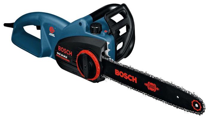Электрическая цепная пила Bosch GKE 35 BCE [0601597603]Пилы<br><br><br>Тип: электрическая цепная<br>Конструкция: ручная<br>Мощность, Вт: 2100 Вт<br>Функции и возможности: плавный пуск, тормоз цепи