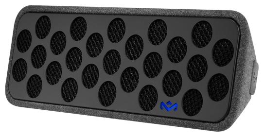 Акустическая система Marley Liberate BT Speaker EM-JA005-MI-WW MidnightАкустические системы<br><br><br>Состав комплекта: портативное аудио<br>Количество полос: 1<br>Мощность, Вт: 5<br>Интерфейсы: линейный (разъем mini jack), Bluetooth