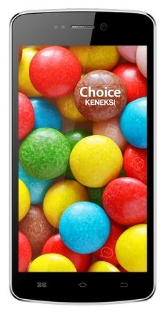 Мобильный телефон Keneksi Choice BlackМобильные телефоны<br><br><br>Тип: Смартфон<br>Стандарт: GSM 900/1800/1900, 3G<br>Тип трубки: классический<br>Поддержка двух SIM-карт: есть<br>SMS: Есть<br>Операционная система: Android 4.4<br>Встроенная память: 4 Гб<br>Разъём для карт памяти: microSD<br>Фотокамера: 8 млн пикс., светодиодная вспышка<br>Форматы проигрывателя: MP3