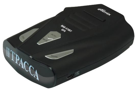 Видеорегистратор Ritmix RAD-570ST GPSРадар-детекторы<br><br>